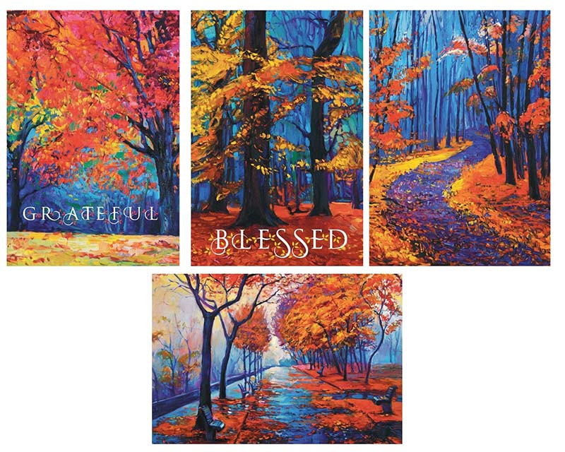 The Season to be Grateful Cards 18-21